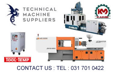 TSM - Suppliers of Jetmaster and Super Master Injection Moulding Machines in South Africa